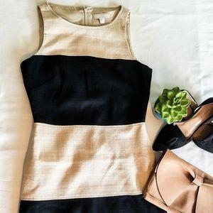 Banana Republic Colorblock Sheath Dress